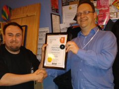 The Steel Tank Alehouse - Southern Hampshire CAMRA Pub of the Year 2019 presentation