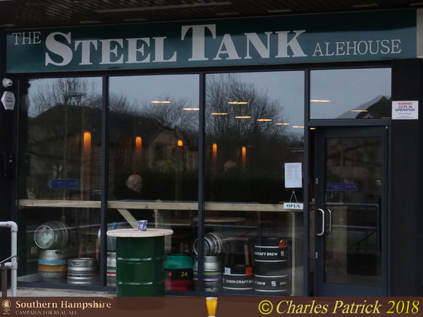 The Steel Tank Alehouse - Southern Hampshire CAMRA Pub of the Year 2019