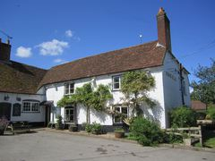 A view of the Black Horse, West Tytherley